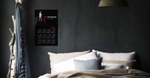 KRV Kalendar zid